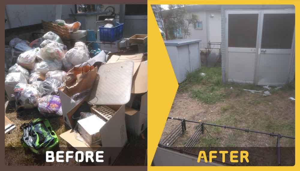 お引越しをするため不用品とゴミの処理にお困りのお客様からご依頼いただきました。