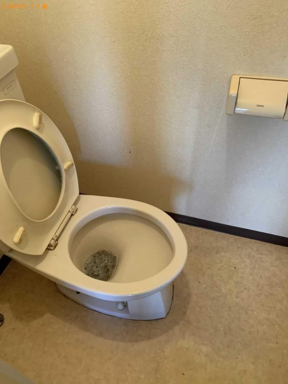 トイレクリーニング施工後