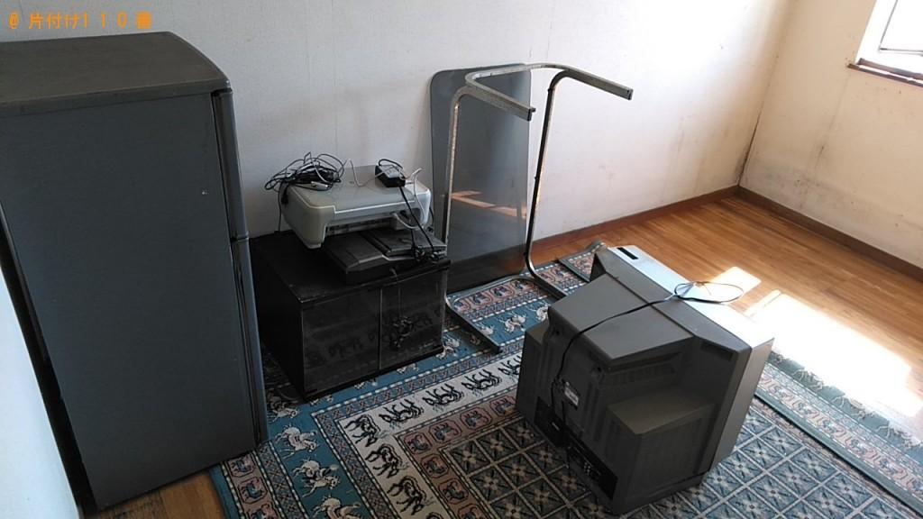 【横浜市】冷蔵庫、テレビ、ガラステーブルの回収・処分ご依頼
