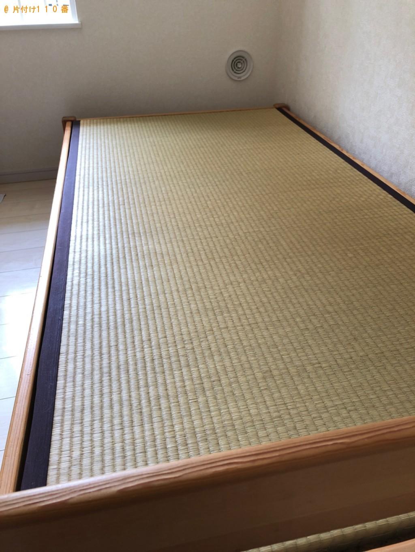 【横浜市南区】シングルベッド、ベッドマットレスの回収・処分ご依頼