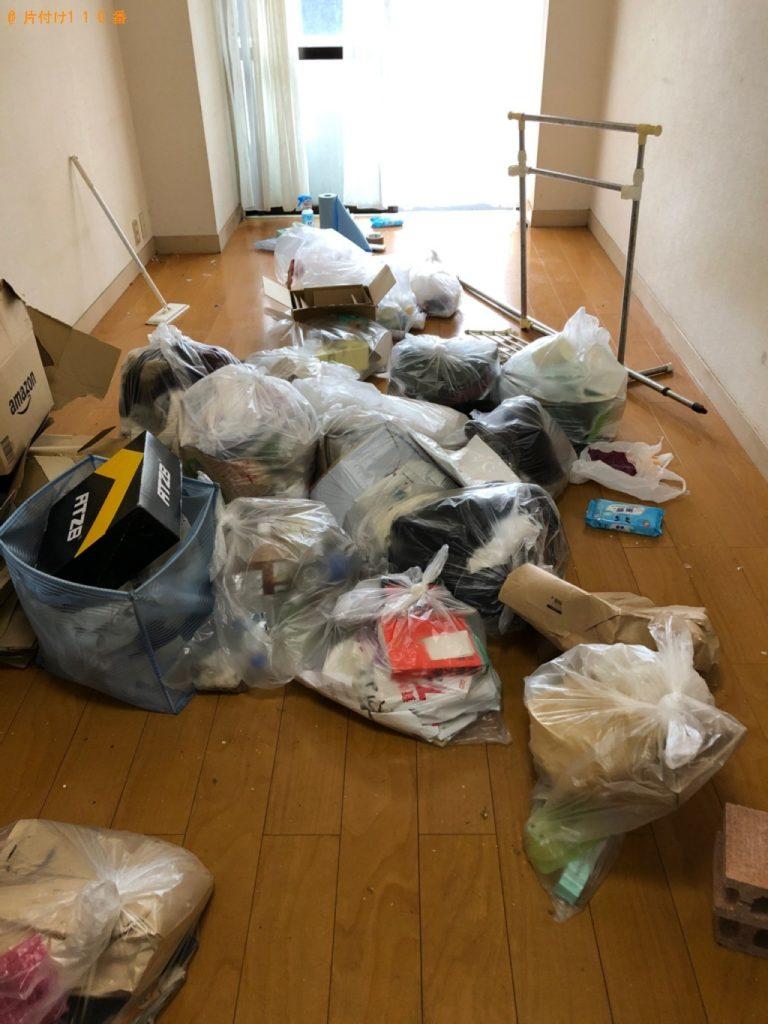 プリンタ―、衣類、ゲーム機、可燃ゴミ等の回収