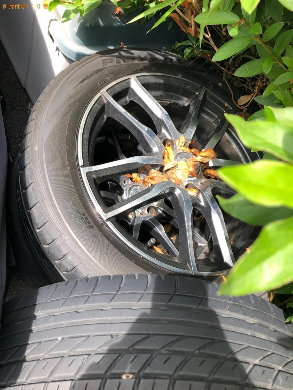 【川崎市幸区】自転車タイヤの回収・処分ご依頼 お客様の声