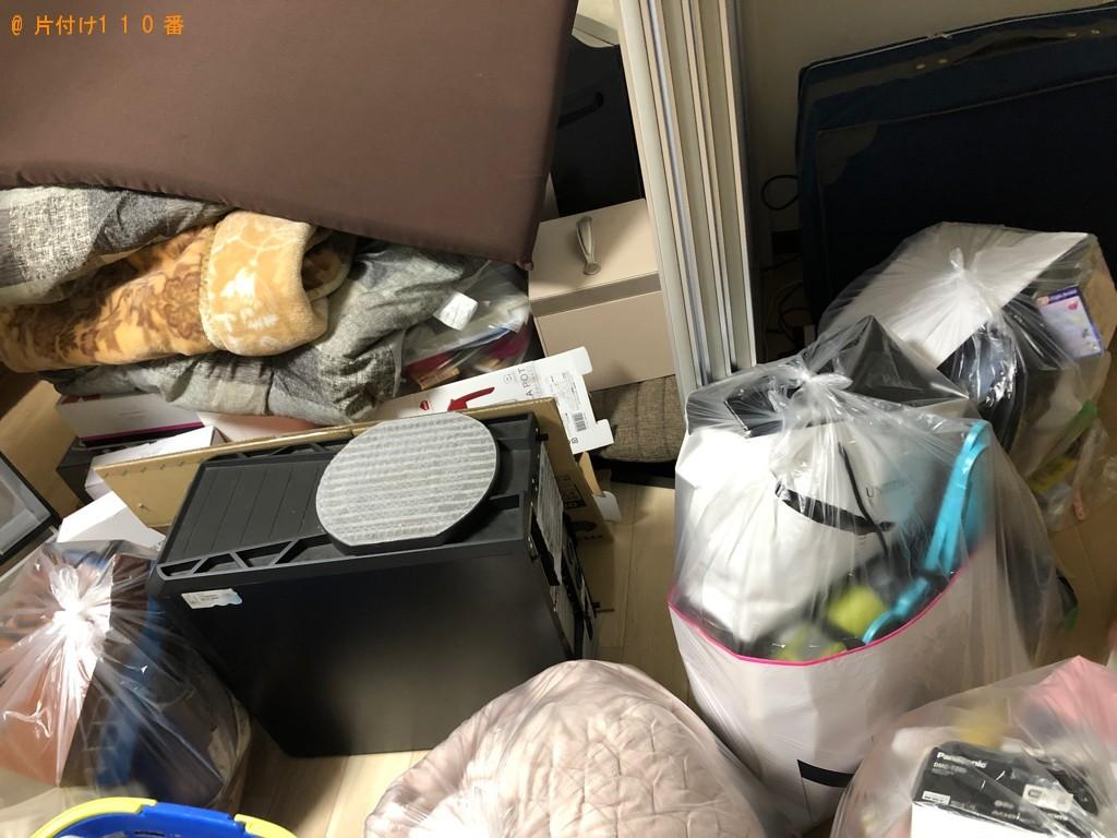 【伊勢原市】遺品整理でデスクトップパソコン、布団乾燥機等の回収・処分