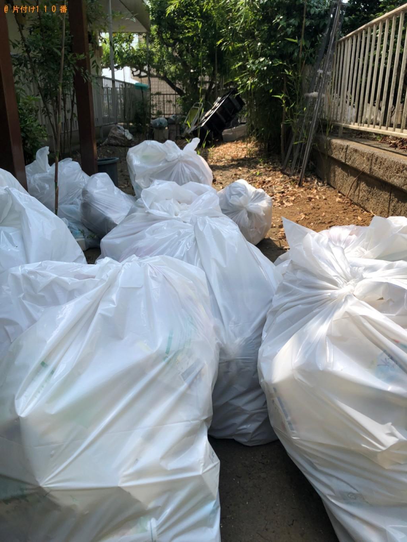 【川崎市】一般ごみの回収・処分ご依頼 お客様の声