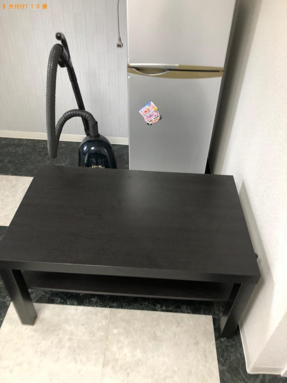 【大和市】遺品整理で冷蔵庫、ローテーブルの回収・処分ご依頼