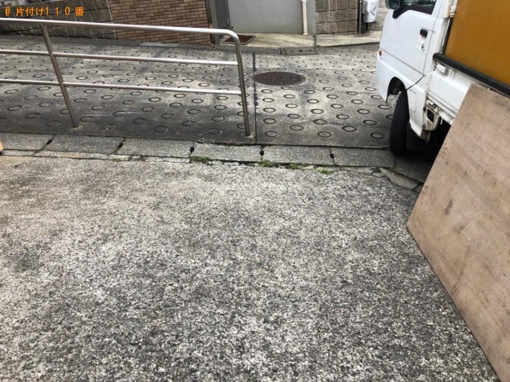 【横浜市旭区柏町】セミダブルベッドの回収・処分ご依頼 お客様の声
