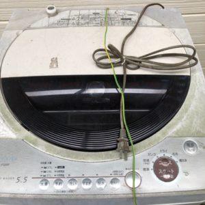 【茅ヶ崎市代官町】洗濯機の回収・処分ご依頼 お客様の声
