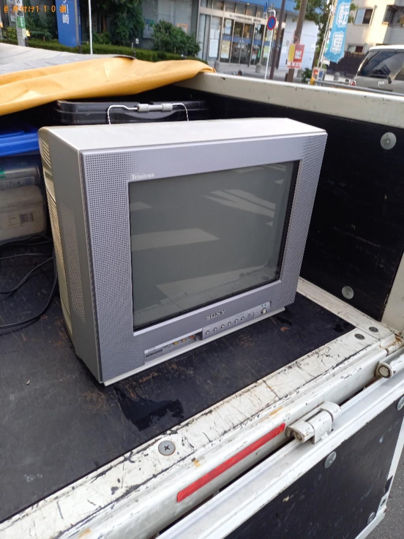 【三浦市】テレビの回収・処分ご依頼 お客様の声