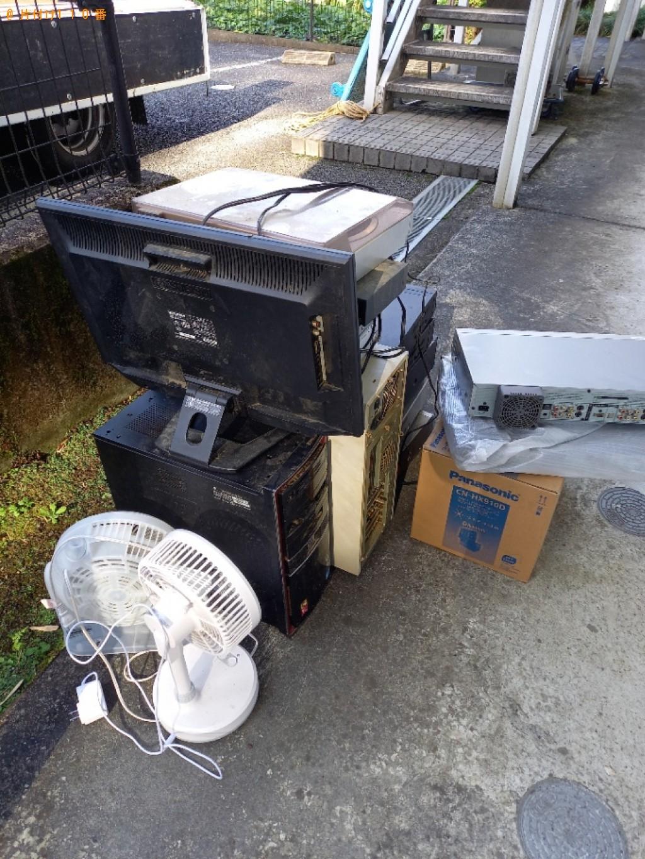【川崎市麻生区】テレビ、コンポ、レコーダー、扇風機等の回収