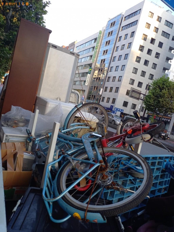 【川崎市多摩区】冷蔵庫、エアコン、食器棚、自転車等の回収・処分【川崎市多摩区】冷蔵庫、エアコン食器棚、自転車等の回収・処分
