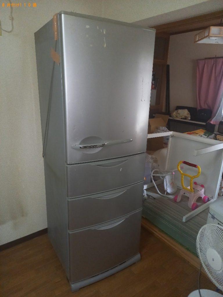 冷蔵庫、エアコン、食器棚、自転車等の回収・処分