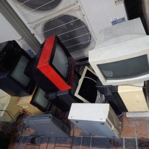 【川崎市中原区】テレビ、パソコン、モニター等の回収・処分ご依頼