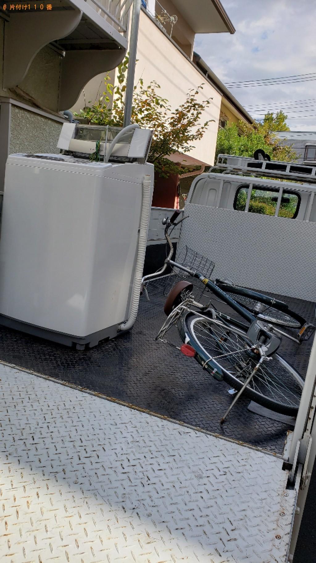 洗濯機、自転車の回収・処分ご依頼 お客様の声