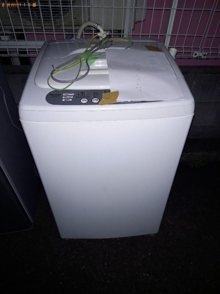 洗濯機、冷蔵庫、オーディオラック、敷布団等の回収