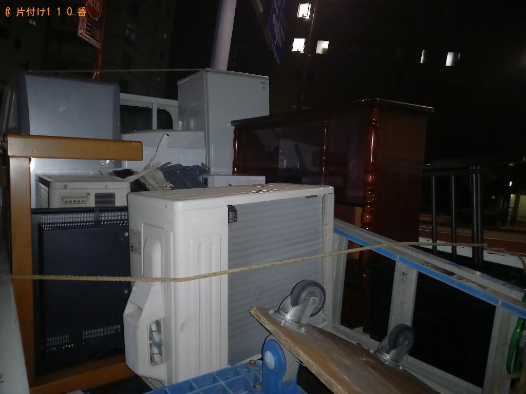 【川崎市高津区】冷蔵庫、エアコン、こたつ、サイドボードの回収