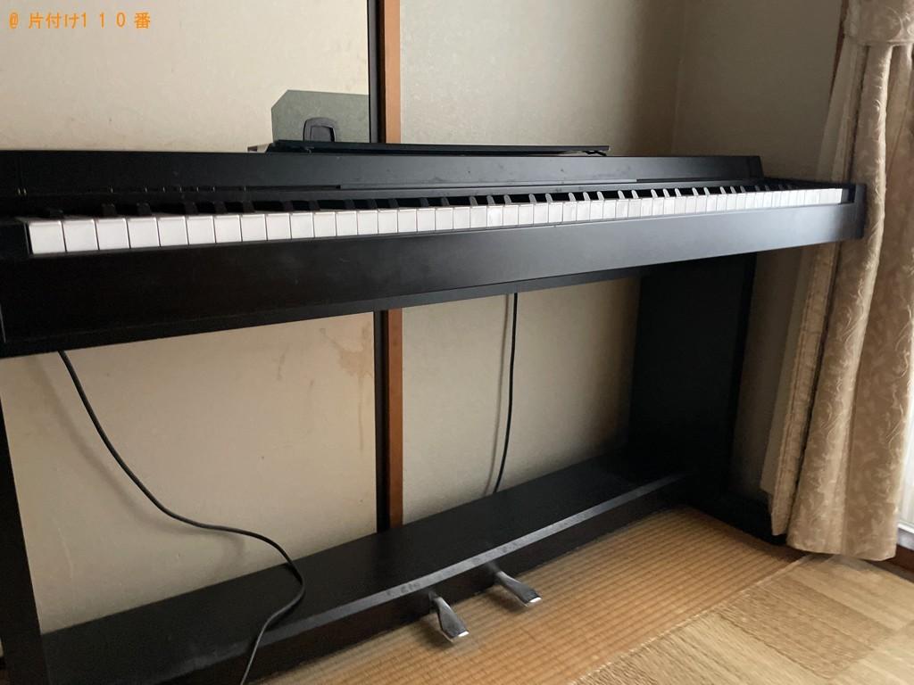 【相模原市南区】電子ピアノの回収・処分ご依頼 お客様の声