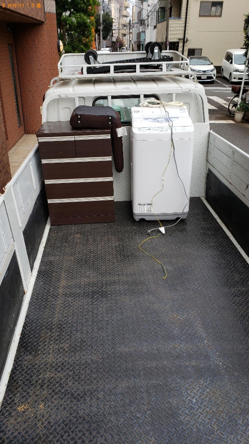 【横浜市西区】洗濯機、タンス、椅子の回収・処分ご依頼 お客様の声