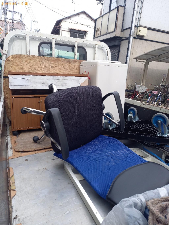 【川崎市川崎区】洗濯機、こたつ、椅子、バーベキューの台等の回収