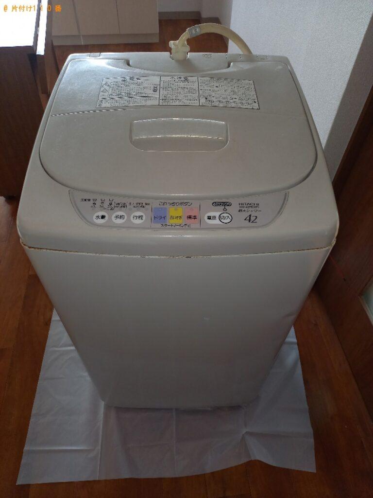 洗濯機、こたつ、椅子、バーベキューの台等の回収