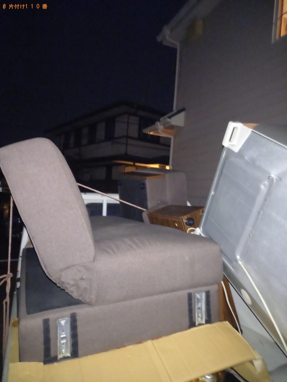 【横浜市港北区】冷蔵庫、三人掛けソファーの回収・処分ご依頼