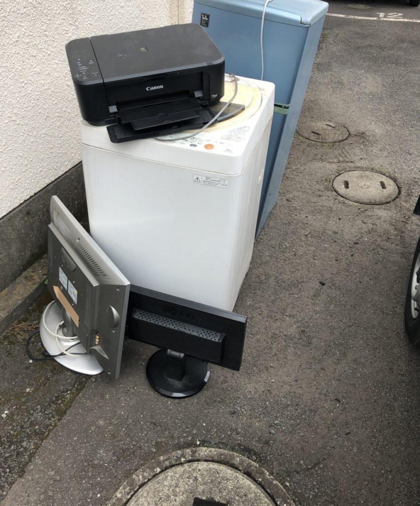 【逗子市】テレビ、冷蔵庫、洗濯機、電子レンジ等の回収・処分ご依頼