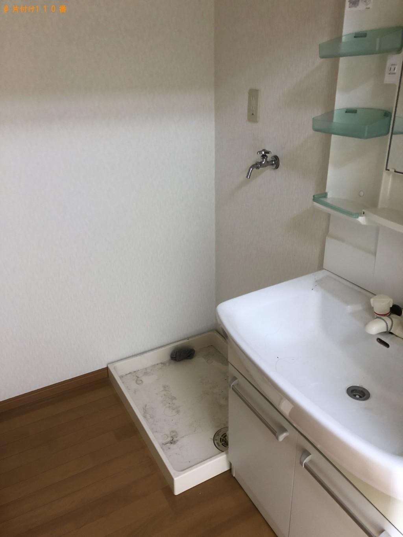 【箱根町】遺品整理で冷蔵庫、洗濯機、シングルベッド等の回収・処分