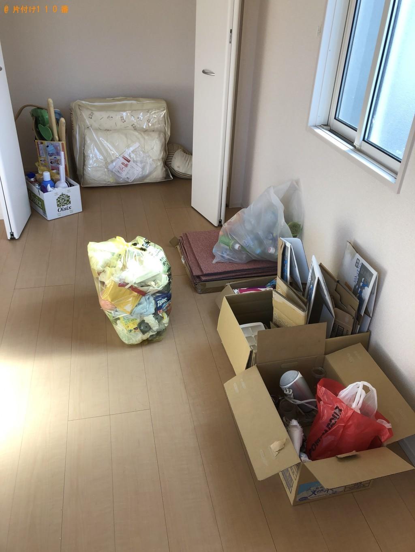 【三浦市】遺品整理で布団、布団乾燥機、オモチャ、毛布等の回収・処分ご依頼