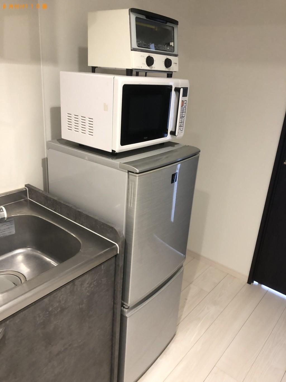 【三浦市】冷蔵庫、洗濯機、電子レンジ、トースターの回収