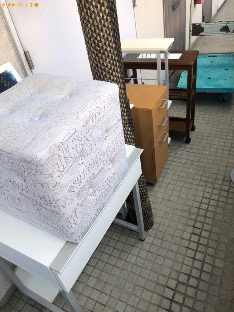 【厚木市】引き出し、キッチンワゴン、鏡台等の回収・処分