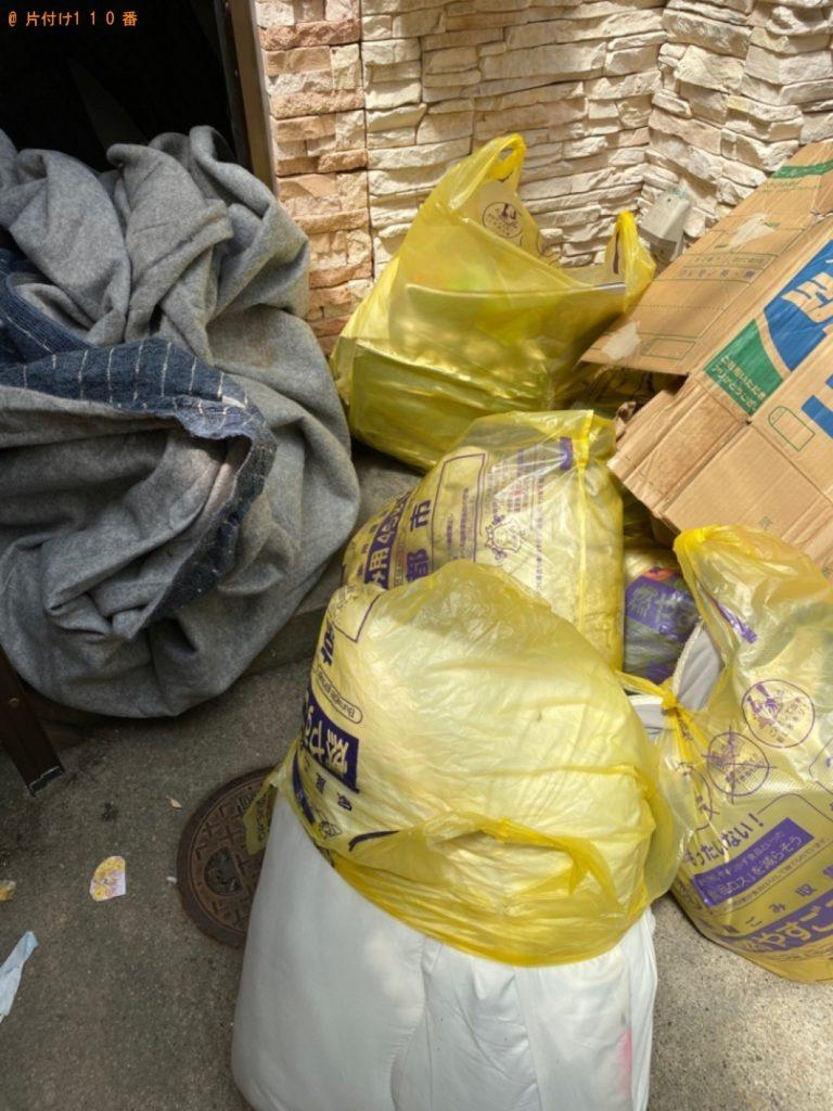 【鎌倉市】遺品整理に伴い軽トラック1台程度の出張不用品回収・処分ご依頼