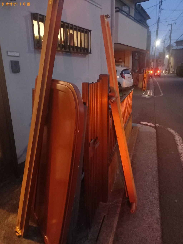 【横浜市鶴見区】マットレス付きセミダブルベッドの回収・処分ご依頼
