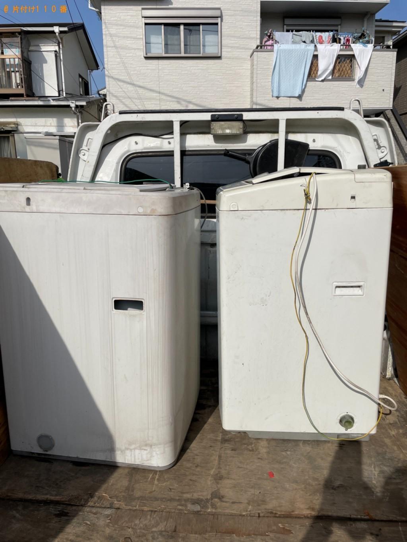 【横浜市金沢区】洗濯機の回収・処分ご依頼 お客様の声