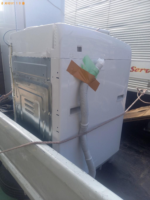 【川崎市】洗濯機の回収・処分ご依頼 お客様の声
