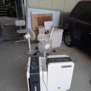 【川崎市中原区】ホワイトボード、椅子、プリンタ―等の回収・処分