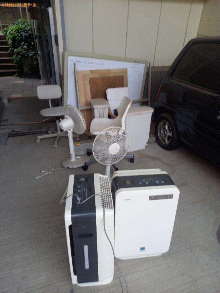 ホワイトボード、椅子、プリンタ―等の回収・処分