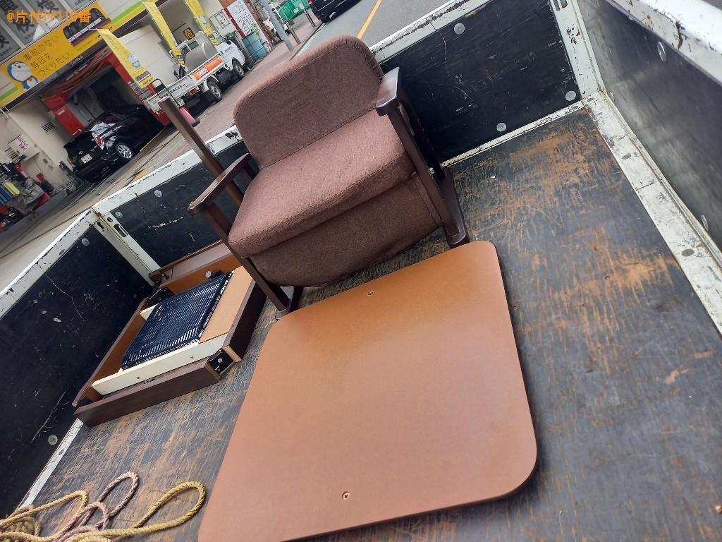 【横浜市】こたつ、椅子の回収・処分ご依頼 お客様の声