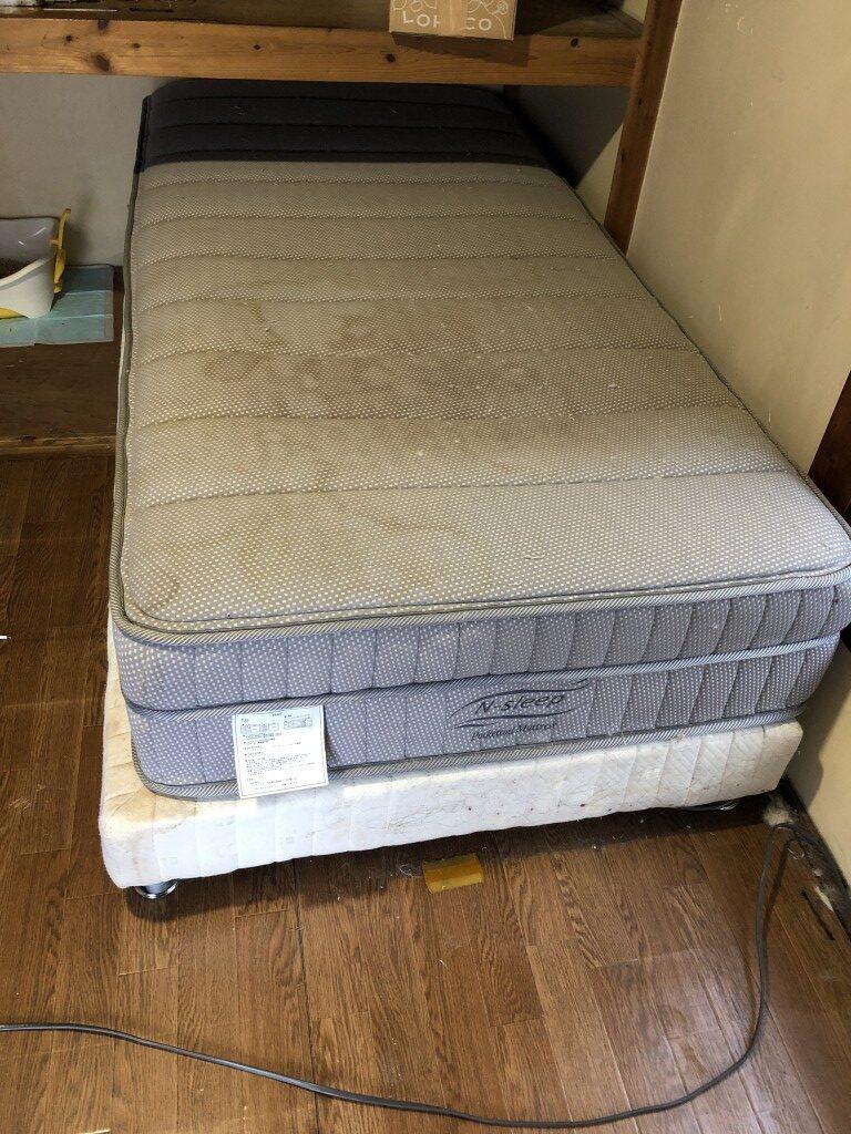 シングルベッドの不用品回収処分 お客様の声